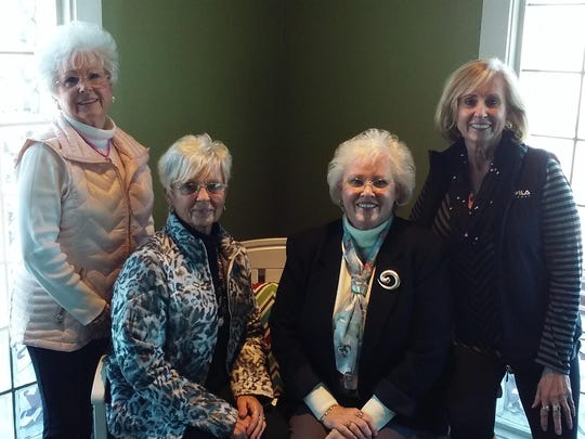 Sister holiday time Reminiscent of the Lennon Sisters, the Bronte Sisters and the Cushing Sisters, this group of four sisters met for their Christmas – New Year celebration luncheon recently at the Westside O'Charley's. Easily spotted with their signature white hair, the siblings from Wadesville, St. Wendell and Evansville caught up with family news and enjoyed a nice lunch. From left are Hazelann Hutchison, Peggy Motz, Robin Redmon and Susan Crawford.