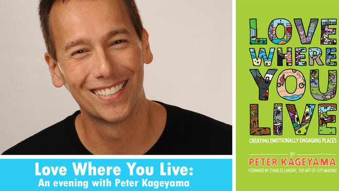 """Peter Kageyama will speak during """"Love Where You Live: An Evening with Peter Kageyama"""" Wednesday, March 15 at Cornerstone."""