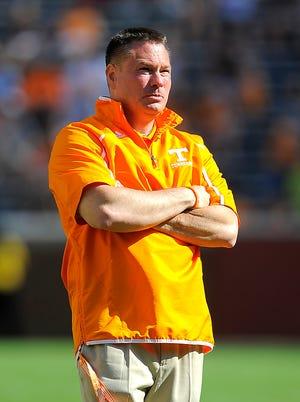 Vols coach Butch Jones