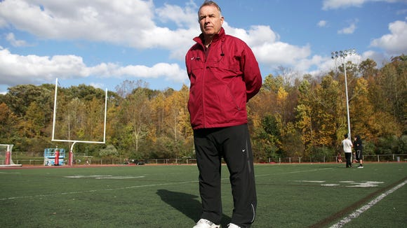 Don Bosco football coach Greg Toal.