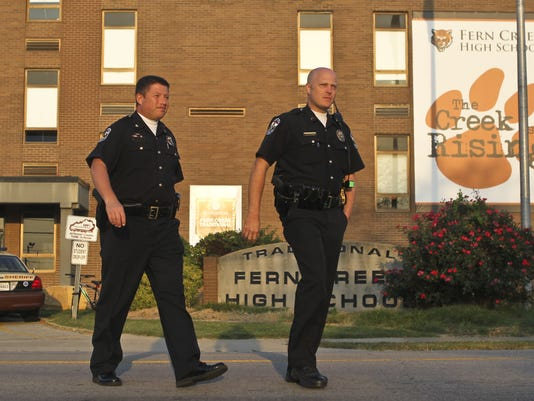 fern creek high school, shooting aftermath, principal