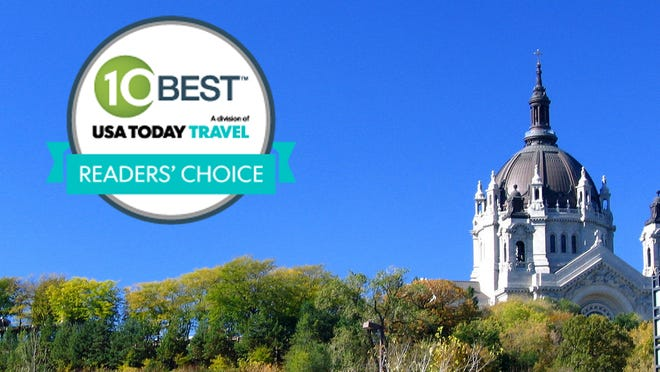 St. Paul was voted the most romantic city in North America in 10best's Readers' Choice contest.