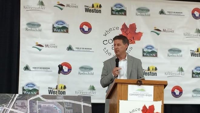 """New Cedar Creek Mall owner Ned Brickman says during a news conference Tuesday, Aug. 26, 2014, that he wants to bring """"energy and life"""" to mall."""