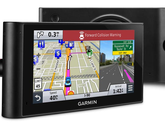 The latest models of Garmin's GPS devices now include