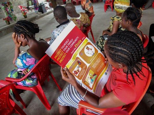 EPA LIBERIA EBOLA UNICEF CAMPAIGN