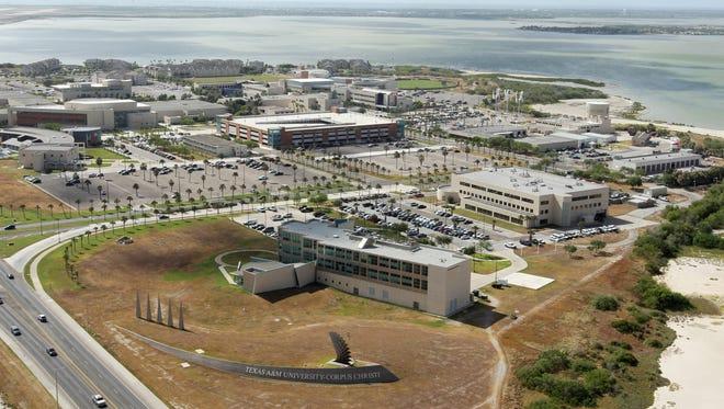Todd Yates/Caller-Times The main island campus at Texas A&M University-Corpus Christi.