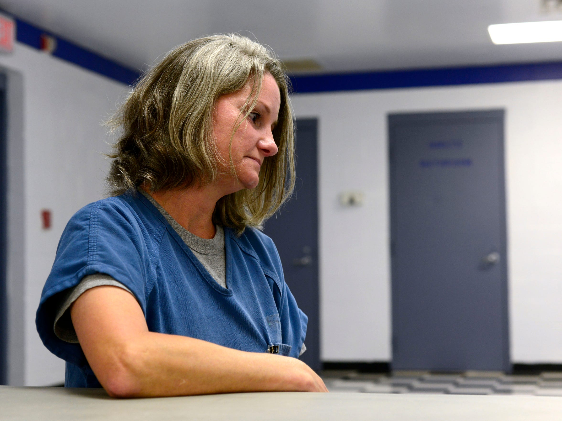 Deidre Cox came to Gadsden Correctional Facility in 2009. She attributes many of her problems to a long line of family abuse.