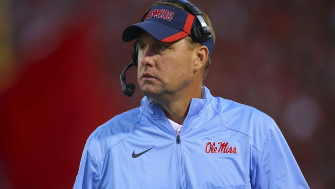Ole Miss coach Hugh Freeze said there's more balance to LSU's offense.