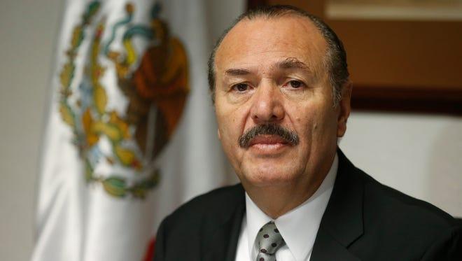 Mexican Consul General Marcos Bucio Mujica
