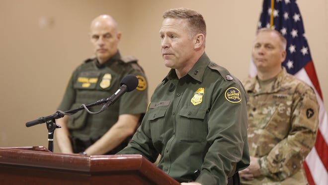 Border Patrol El Paso SectorChief Aaron Hull on Friday talks about the impending deployments of National Guard troops in New Mexico and West Texas.