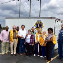 Lions Club helps storm victims
