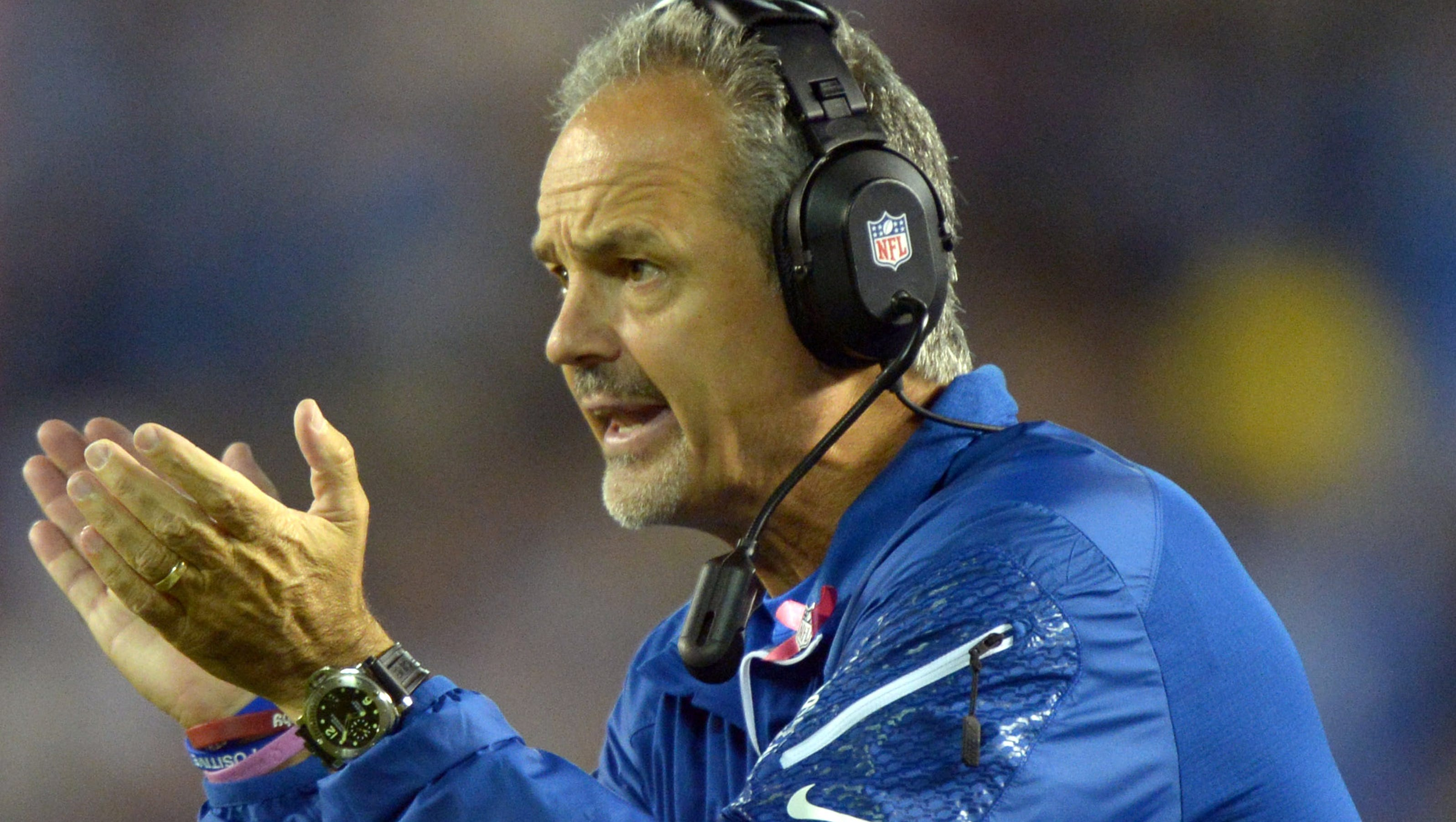 Pagano Irsay Clarify Owner S Comments About Manning
