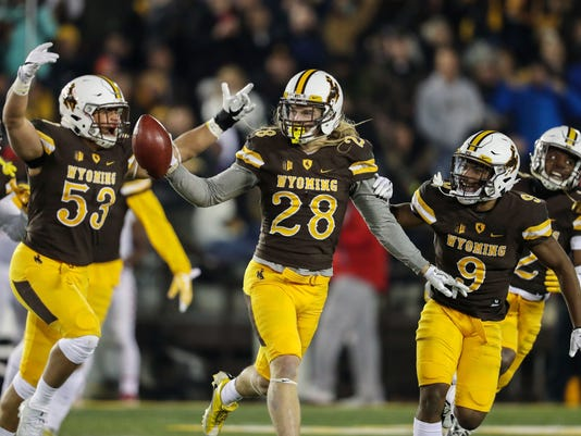 NCAA Football: New Mexico at Wyoming