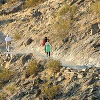 A hiker died after having a medical emergency on the Bump and Grind trail in Palm Desert.