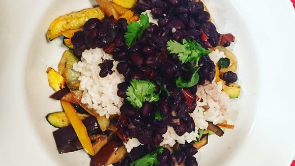 This beans-and-rice dish is not only delicious, but nutritious as a complete protein.