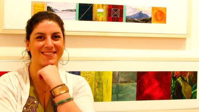 Margot Muto, who runs Axom Art Gallery, believes deeply in local art.