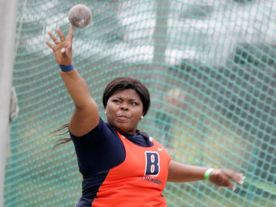 Blackman's Kalea Barnett finished sixth in the TSSAA