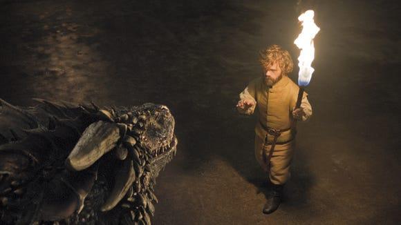 Tyrion that dragon has zero chill.