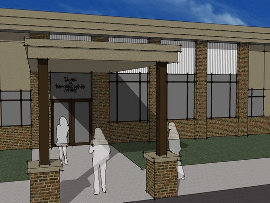 Renderings show what the new school building for Ross