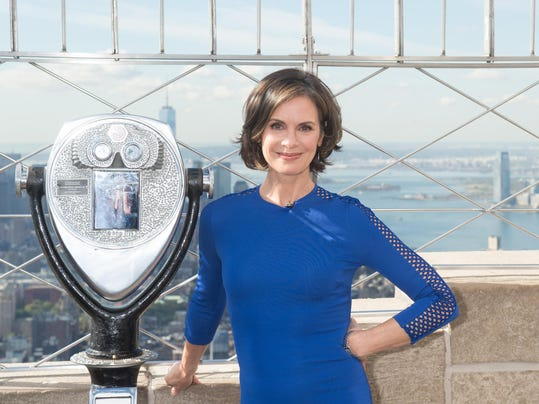 David Muir and Elizabeth Vargas light the Empire State Building for 20/20
