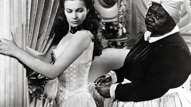 """Vivien Leigh and Hattie McDaniel star in the film """"Gone With the Wind."""""""