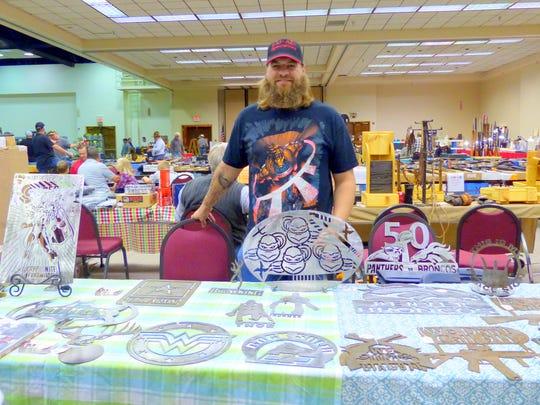 Tim Harris of T-M-Art Specialties based in Odessa,
