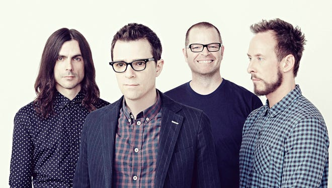 Weezer is among the headliners at the 2017 Forecastle Festival.
