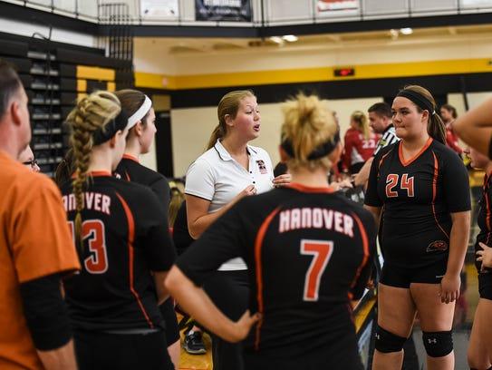 Hanover coach Liz Garber is entering her third season