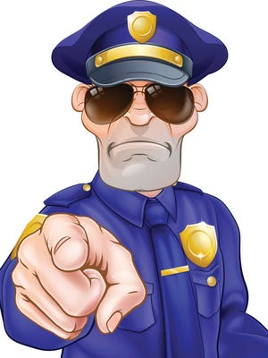 There is a way to address citizens who might have made a mistake, and it is not drill sergeant.