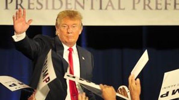 GOP presidential nominee Donald Trump