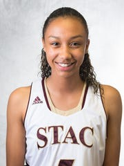 Elmira High graduate Zaria Thomas completed her freshman season at St. Thomas Aquinas College