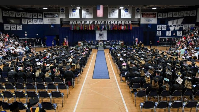 Washburn University will host more graduation ceremonies, but with fewer attendees at each, in the week before Thanksgiving, university officials announced Tuesday.