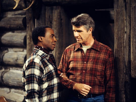 Robert Guillaume and James Noble