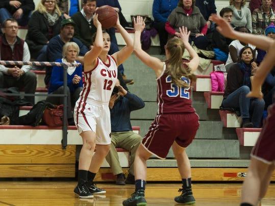 Spaulding vs. CVU Girls Basketball 02/11/16