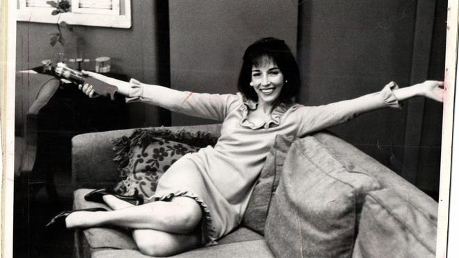 Helen Gurley Brown during her heyday as editor-in-chief at Cosmopolitan.