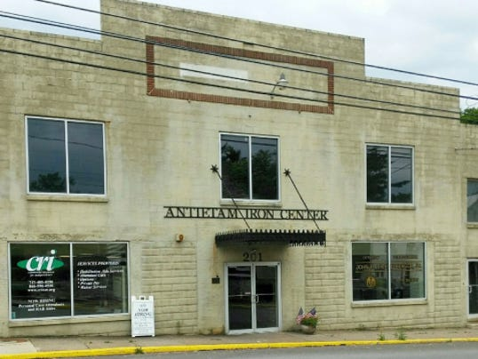 Antietam Ironworks, 201 Lincoln Way West, McConnellsburg, will be the site of an art exhibit opening July 10, with works by eight Fulton County artists and including samples of painted quilt squares that will become part of the Frontier Barn Quilt Trail in Fulton County.