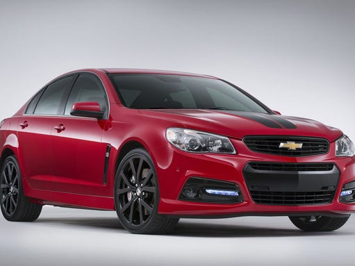 Inspired by Chevrolet's motorsports heritage, the SS