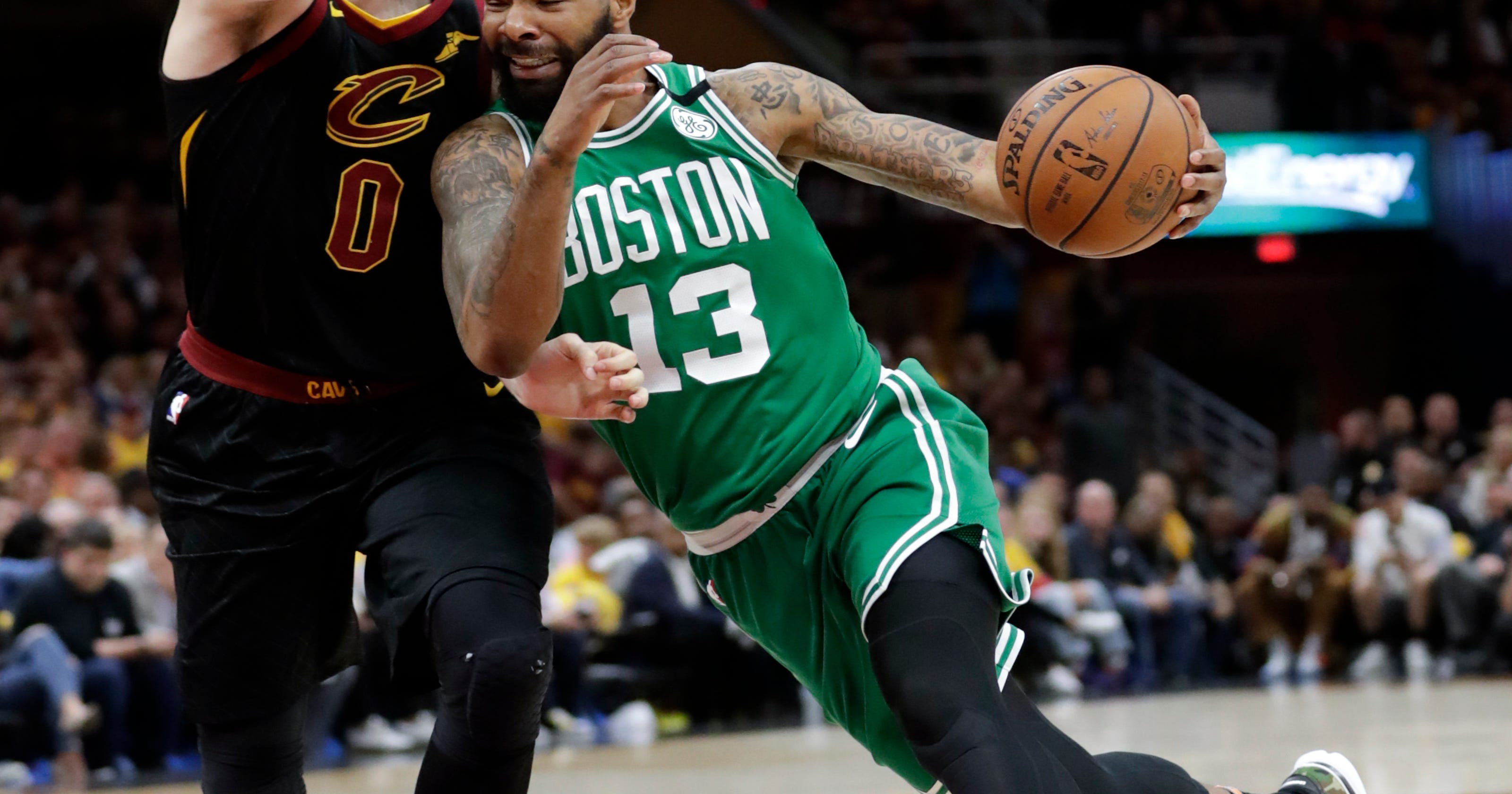 af05764dfc7 All tied up  LeBron s 44 helps Cavs even series with Celtics