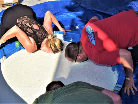 This could be you bobbing for wings at the Big Kahuna Wing Festival, coming up June 16.