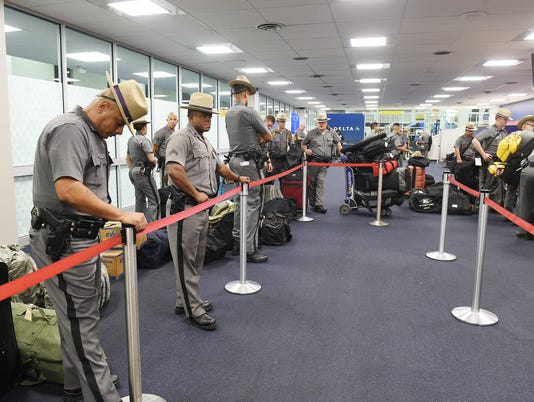 State Police at Airport