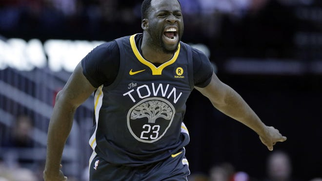 Golden State Warriors forward Draymond Green was fined by the NBA for tampering after saying publicly that Suns star Devin Booker should leave Phoenix.