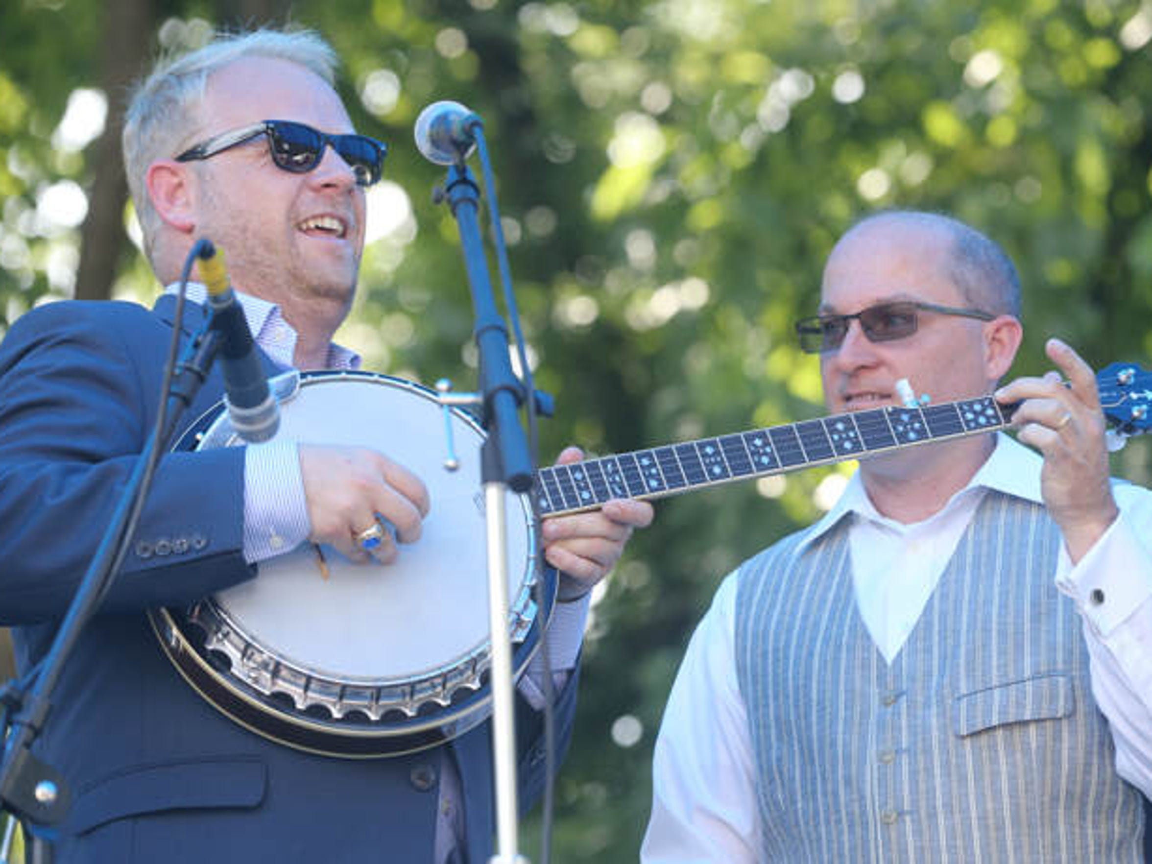 Dailey & Vincent were the Heritage Award winners and headline act on the second day of Uncle Dave Macon Days, on Saturday, July 12, 2014.