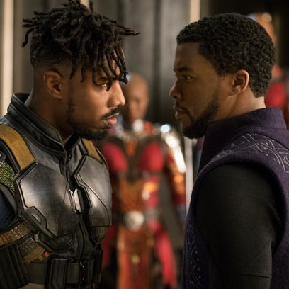 'Black Panther' roars to a record $192M first weekend at the box office