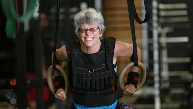 Karin Gogolsky, a 60-year-old grandmother, trains for the Reebok Crossfit Games where she will compete against 20 other women from around the world.