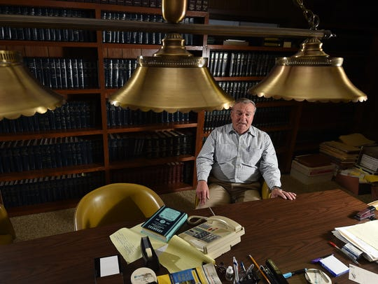 Ron Kincade is retiring after 28 years working as a