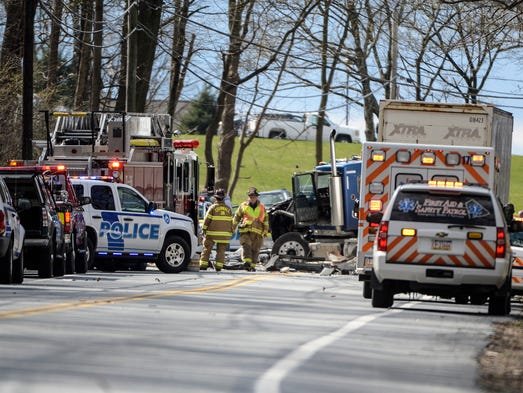 Derry Township Car Accident