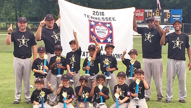 The Springfield 5-and-6-year-old All-Star team wins back-to-back titles.