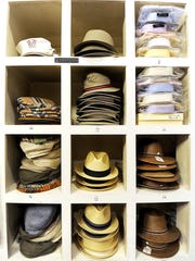 Some of the hats available at Don Nash Limited.