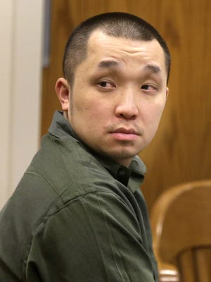 Chong Leng Lee, 30, during opening statements in Outagamie County Circuit Court  on Feb. 25, 2016 in Appleton, Wisconsin.