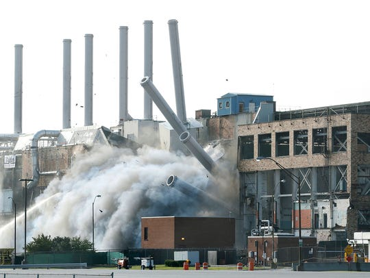 Implosion of Kodak Building 53 on Saturday.